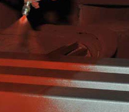 Broson Steel – Blästring och målning arbeten